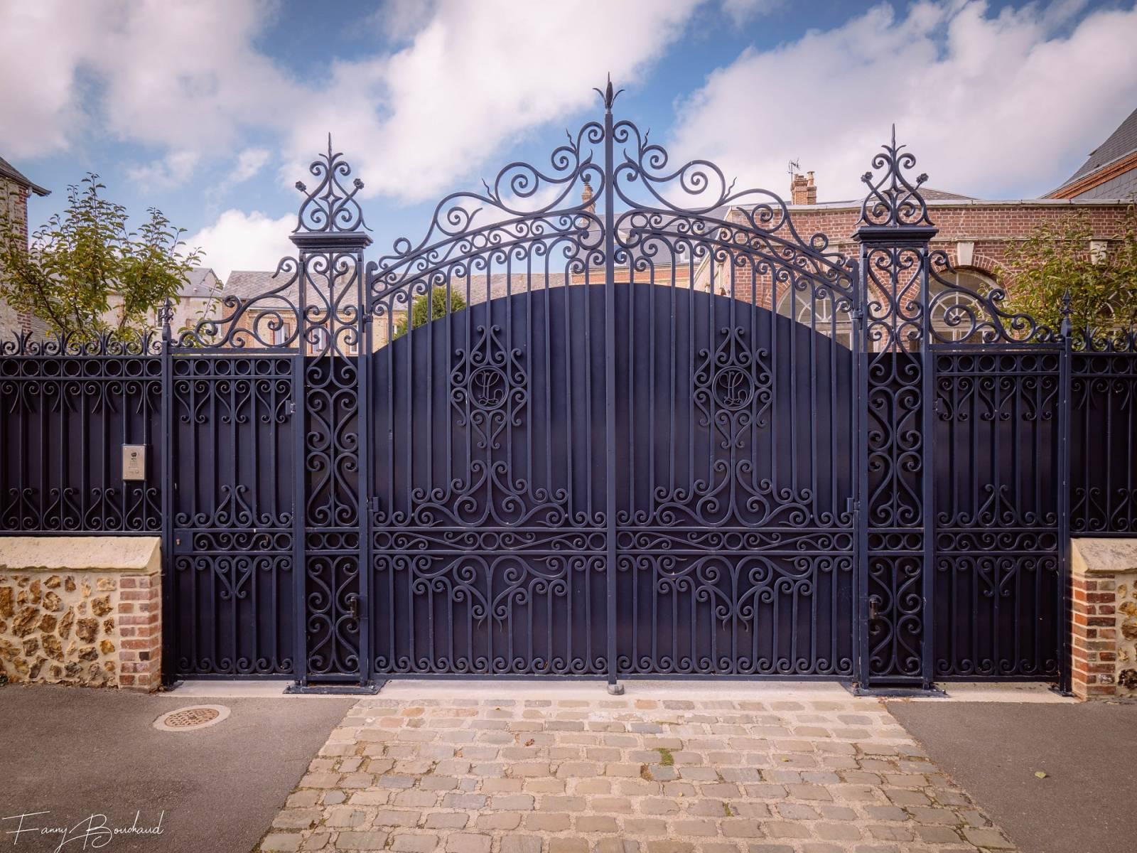 Faire Son Portail En Fer restauration portail fer forgé et grilles pour maison à